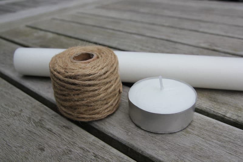 Wax Dipped Jute Cordage Fire Starter materials