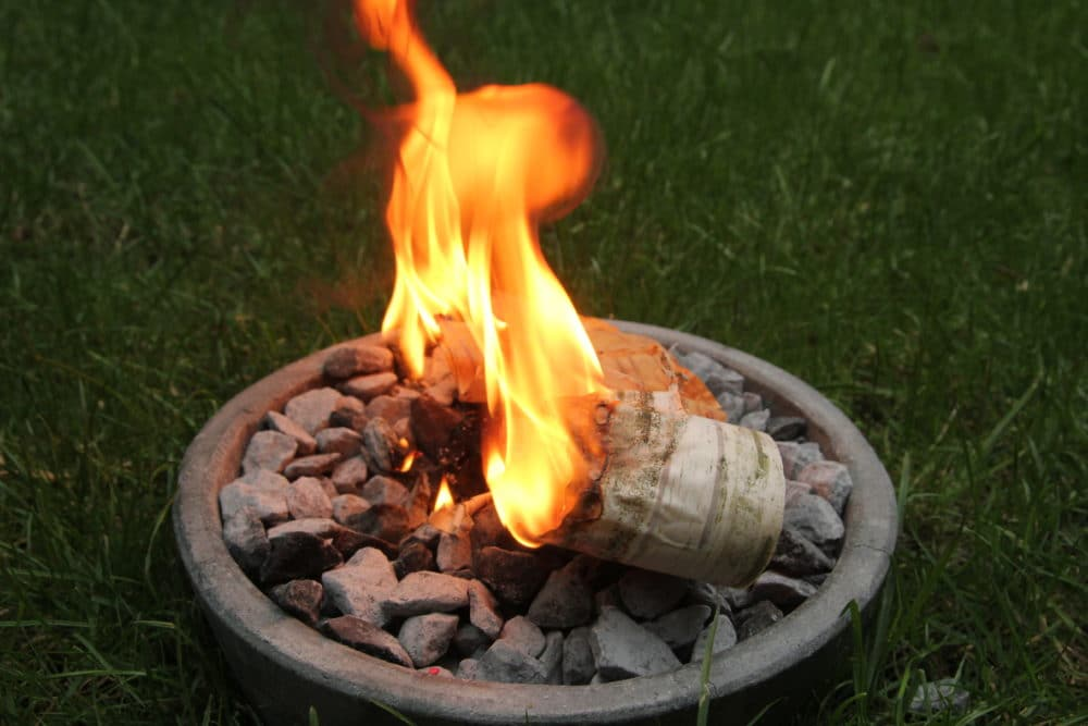 Birch Bark Fire Starter