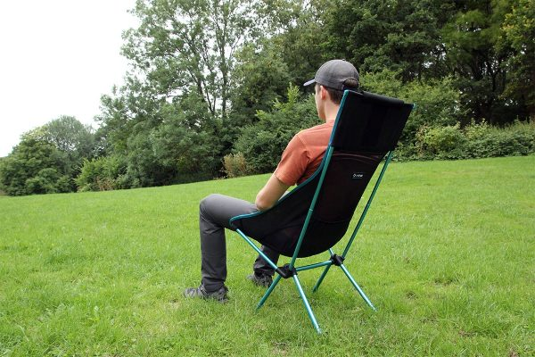 Helinox Sunset Chair Review Sitting test 2